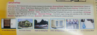 Gallery Cover Image of 851 Sq.ft 2 BHK Apartment for buy in Vinayak Residency, Saptarshi Park for 2050000