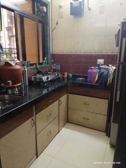 लखानी लखानीस पाल्म व्यू, सीवुड्स  में 7200000  खरीदें  के लिए 7200000 Sq.ft 1 BHK अपार्टमेंट के किचन  की तस्वीर