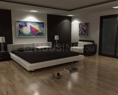 Bedroom Image of 655 Sq.ft 1 BHK Apartment for buy in Laxminagar for 2800000
