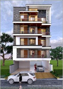 Gallery Cover Image of 1250 Sq.ft 3 BHK Independent Floor for buy in Green Field Colony for 3100000