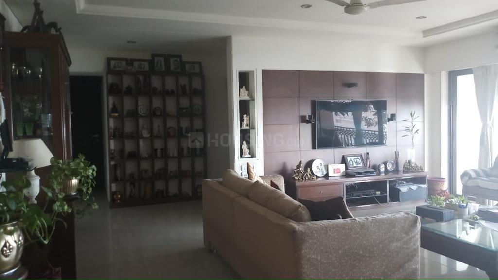 Living Room Image of 900 Sq.ft 2 BHK Apartment for rent in Thane West for 25000