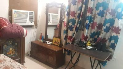 Bedroom Image of Girls PG In Malviya Nagar Single Separate Room Without Meal in Malviya Nagar