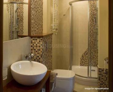 Bathroom Image of 1137 Sq.ft 2 BHK Apartment for buy in Shapoorji Pallonji BKC 28, Bandra East for 29990000