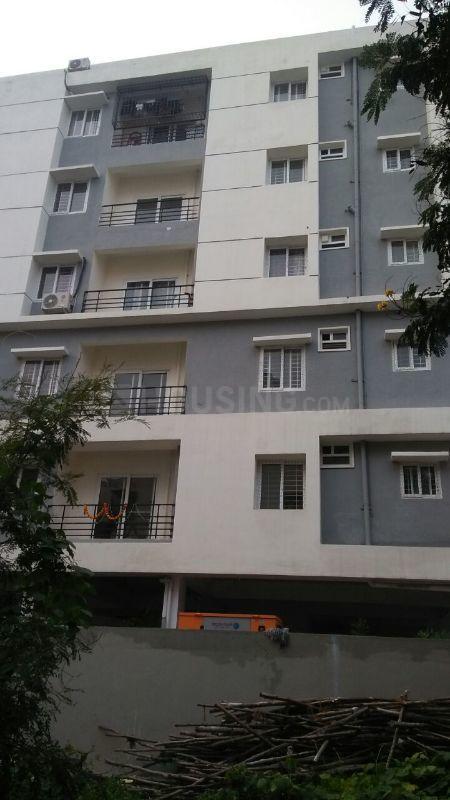Building Image of 700 Sq.ft 1 RK Apartment for rent in Pragathi Nagar for 16000