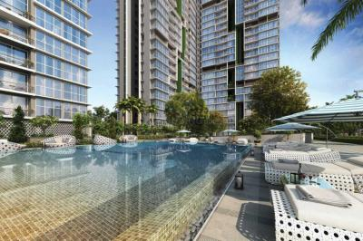 Gallery Cover Image of 1250 Sq.ft 3 BHK Apartment for buy in TATA Serein Phase 1, Thane West for 19900000