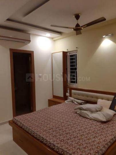 Bedroom Image of 1500 Sq.ft 3 BHK Apartment for rent in Kachiguda for 35000