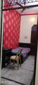 Bedroom Image of Krishna Boys PG in Patel Nagar