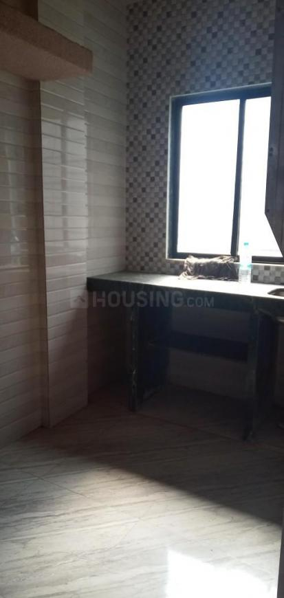 Kitchen Image of 400 Sq.ft 1 RK Apartment for rent in Vashi for 12000