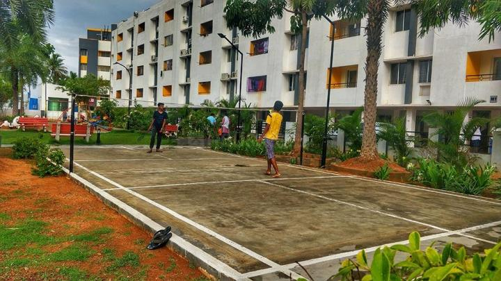 Playing Area Image of 1120 Sq.ft 3 BHK Apartment for buy in Chembarambakkam for 3134880