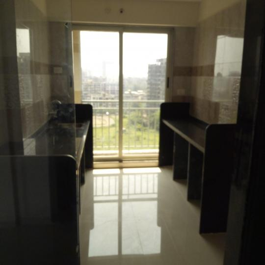 Kitchen Image of 707 Sq.ft 1 BHK Apartment for rent in Kalyan West for 10000