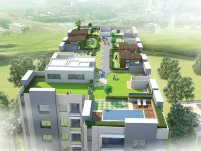 Building Image of 715 Sq.ft 2 BHK Apartment for buy in Jai City Home Shankwas House, Maderna for 2750000