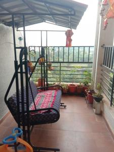 Balcony Image of 1000 Sq.ft 2 BHK Apartment for buy in Dhayari for 5800000