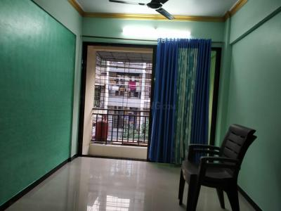 Gallery Cover Image of 590 Sq.ft 1 BHK Apartment for rent in Airoli for 23000