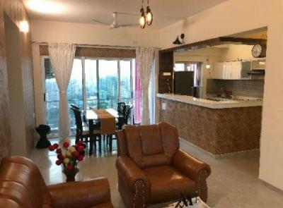 Gallery Cover Image of 1600 Sq.ft 3 BHK Apartment for rent in Romell Aether Wing B1, Goregaon East for 90000