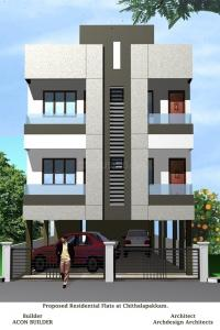 Gallery Cover Image of 1210 Sq.ft 3 BHK Apartment for buy in Chitlapakkam for 5929000