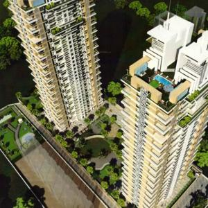 Gallery Cover Image of 1049 Sq.ft 2 BHK Apartment for buy in Deep Homes And Constructions Mumbai Auralis The Twins, Thane West for 21100000