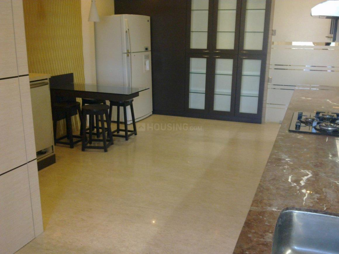 Kitchen Image of 2100 Sq.ft 3 BHK Apartment for rent in Juhu for 200000