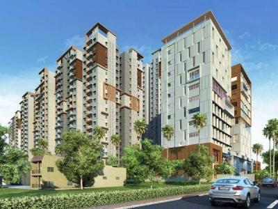 Gallery Cover Image of 1220 Sq.ft 2 BHK Apartment for buy in Salarpuria Sattva Magnus, Toli Chowki for 9259800