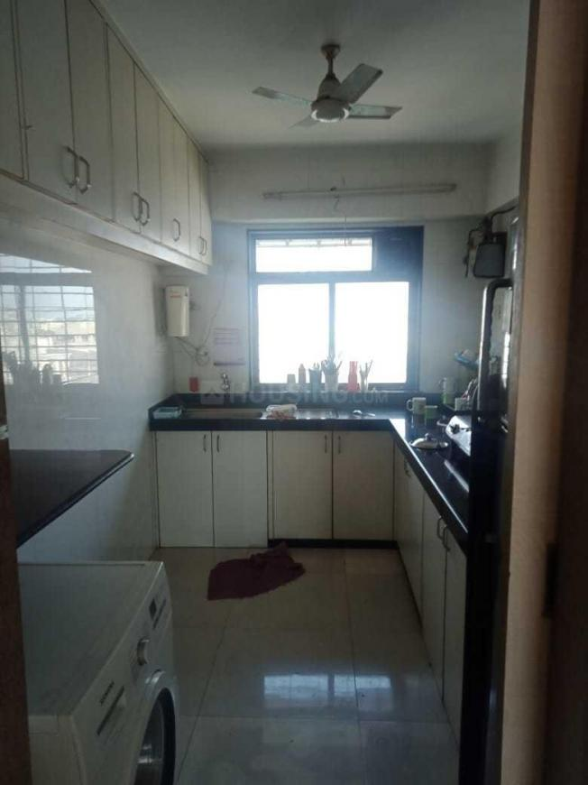 Kitchen Image of 1500 Sq.ft 3 BHK Apartment for rent in Khar West for 140000