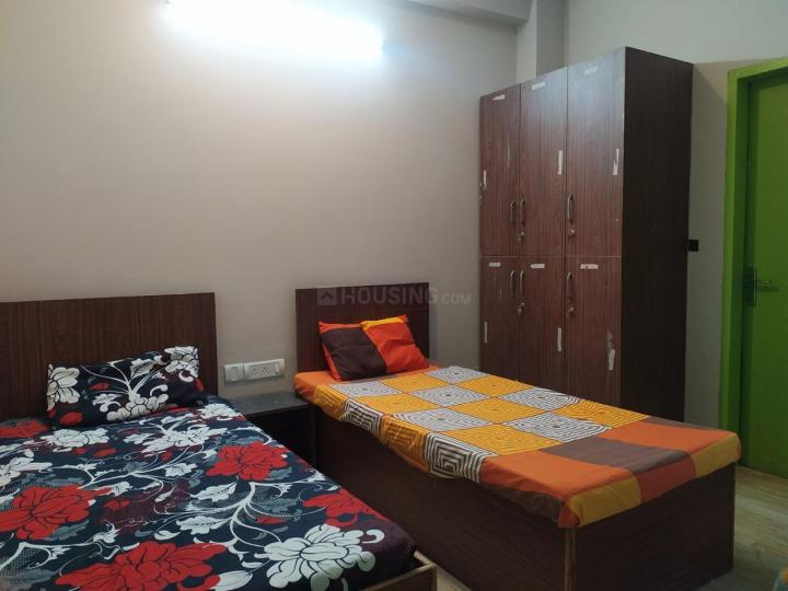 सनराइज़ पीजी इन सेक्टर 14 के बेडरूम की तस्वीर