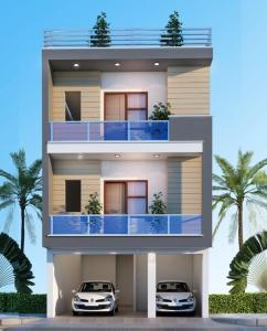 Gallery Cover Image of 1050 Sq.ft 2 BHK Independent Floor for buy in Crossings Republik for 2550000