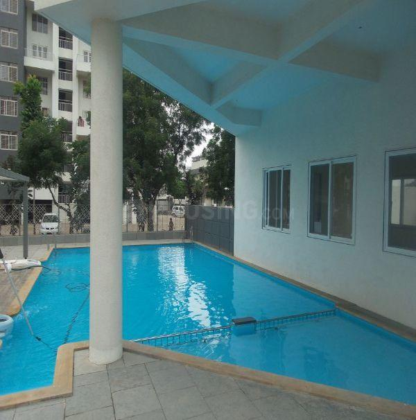 Swimming Pool Image of 1034 Sq.ft 2 BHK Apartment for rent in Yewalewadi for 12000