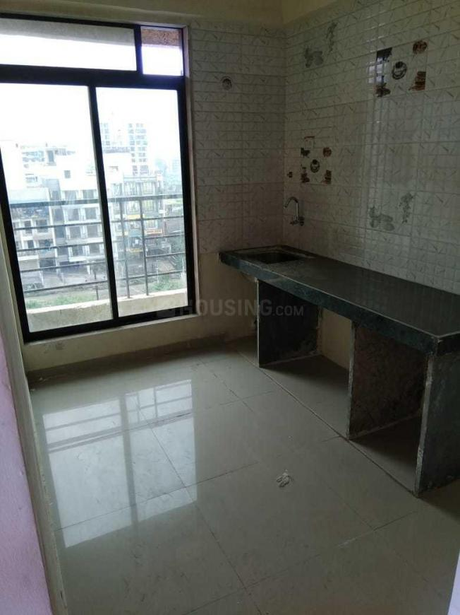 Kitchen Image of 400 Sq.ft 1 RK Apartment for rent in Karanjade for 4500