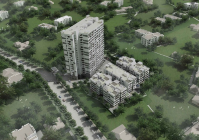 Gallery Cover Image of 1272 Sq.ft 3 BHK Apartment for buy in DRA Pristine Pavilion Phase 3, Mahindra World City for 4846320
