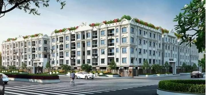 Building Image of 898 Sq.ft 3 BHK Apartment for buy in Chinar Park for 2783800
