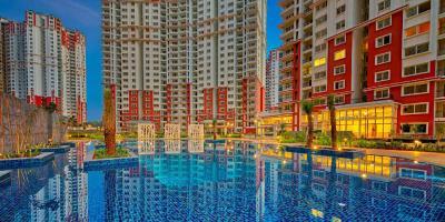 Gallery Cover Image of 1216 Sq.ft 2 BHK Apartment for buy in Prestige Lakeside Habitat, Gunjur Village for 9100000
