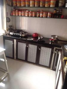 Gallery Cover Image of 750 Sq.ft 1 BHK Independent Floor for rent in Airoli for 24000