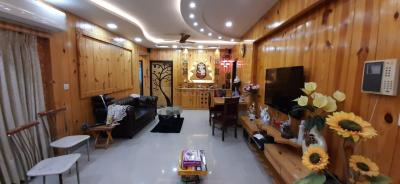 Gallery Cover Image of 1550 Sq.ft 3 BHK Apartment for rent in South City Apartment, Jadavpur for 65000