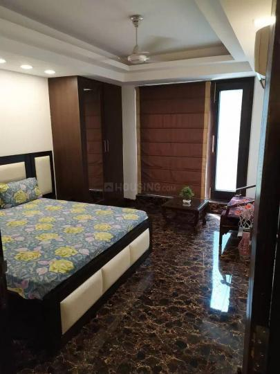Bedroom Image of 1120 Sq.ft 2 BHK Independent Floor for rent in Omaxe Grand Woods, Sector 93B for 20000