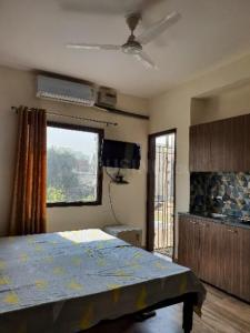 Gallery Cover Image of 300 Sq.ft 1 RK Apartment for rent in Sector 46 for 15000