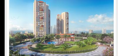Gallery Cover Image of 584 Sq.ft 1 BHK Apartment for buy in Shapoorji Pallonji Joyville Hadapsar Annexe, Shewalewadi for 3600000