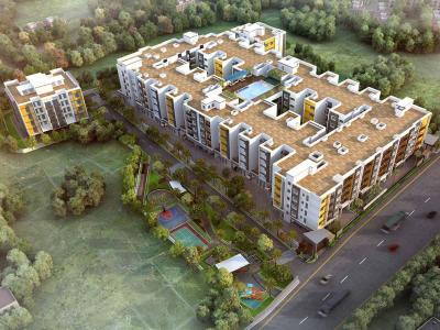Gallery Cover Image of 1352 Sq.ft 3 BHK Apartment for buy in Casagrand Woodside, Kolapakkam for 8810000