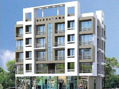 Gallery Cover Image of 415 Sq.ft 1 RK Apartment for buy in majestic residency, Karanjade for 2200000
