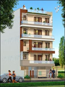 Gallery Cover Image of 1690 Sq.ft 3 BHK Independent House for buy in Rich Look Elegant Floors - 3, Green Field Colony for 6940000