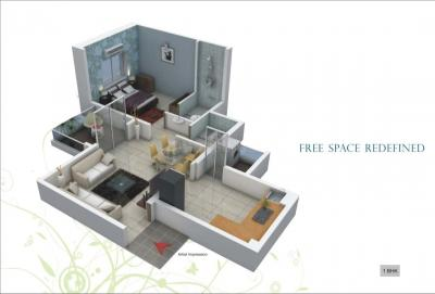 Gallery Cover Image of 1377 Sq.ft 3 BHK Apartment for buy in Dhayari for 10200000