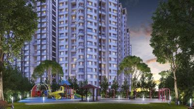 Gallery Cover Image of 585 Sq.ft 1 BHK Apartment for buy in Raunak City 3, Kalyan West for 3300000