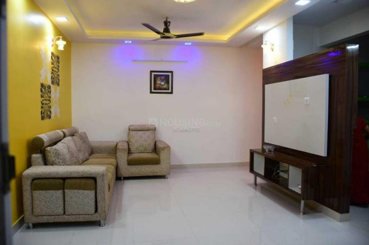Living Room Image of 1000 Sq.ft 2 BHK Apartment for rent in Kambipura for 17000