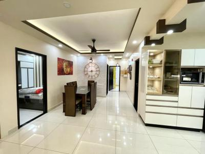 Gallery Cover Image of 2260 Sq.ft 3 BHK Apartment for rent in Brigade Lakefront, Hoodi for 55000