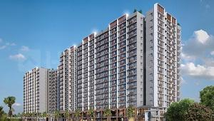 Gallery Cover Image of 592 Sq.ft 2 BHK Apartment for buy in Godrej Vihaa, Badlapur East for 4300000