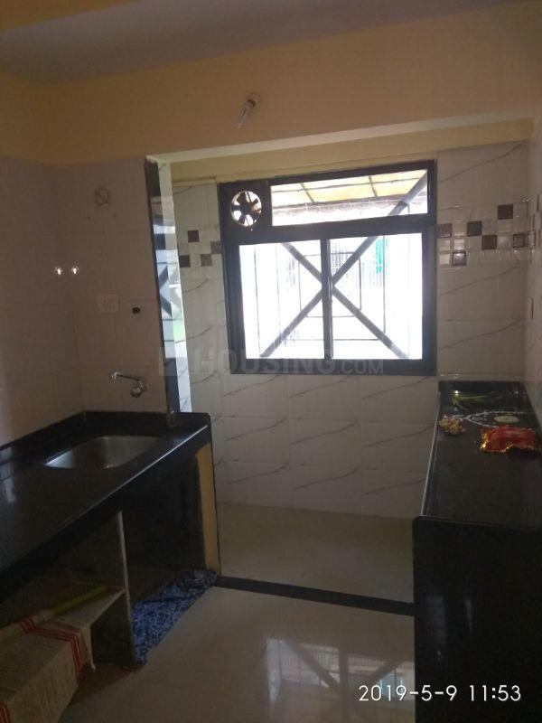 Kitchen Image of 650 Sq.ft 1 BHK Apartment for rent in Mulund East for 22500