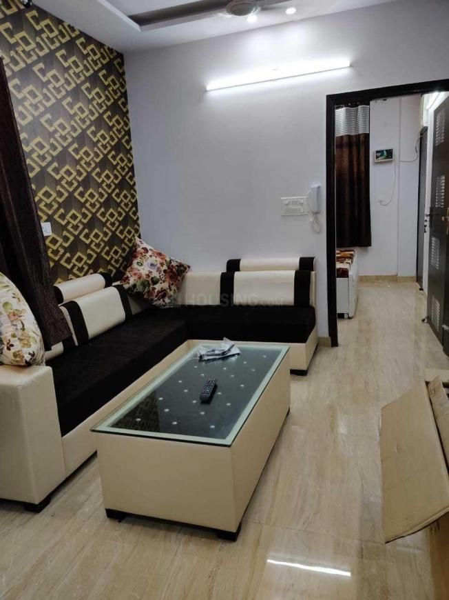Living Room Image of 648 Sq.ft 2 BHK Independent Floor for rent in Sector 19 Dwarka for 26000