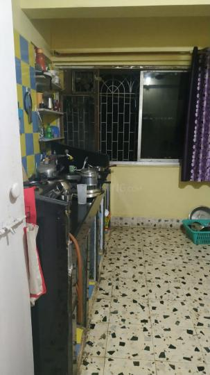 Kitchen Image of 750 Sq.ft 1 BHK Independent House for rent in Kopar Khairane for 18000