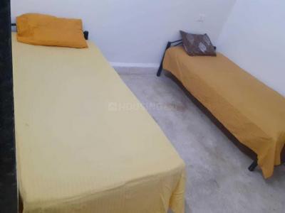 विमान नगर में भक्ति पीजी के बेडरूम की तस्वीर