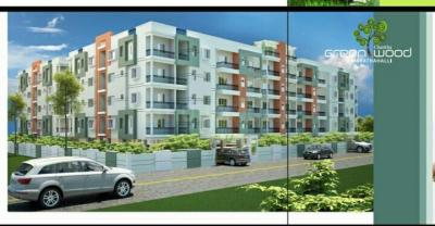Gallery Cover Image of 1485 Sq.ft 3 BHK Apartment for buy in Sri Charitha Green Woods, Marathahalli for 6500000