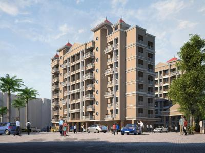 Gallery Cover Image of 566 Sq.ft 1 BHK Apartment for buy in Varun Heritage, Badlapur West for 2170000