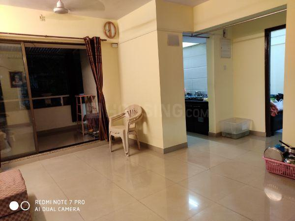 Living Room Image of 1050 Sq.ft 2 BHK Apartment for rent in Thane West for 26000